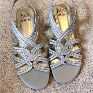 IMPO stretch strap sandals